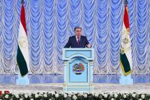 Речь по случаю Дня государственного языка Республики Таджикистан