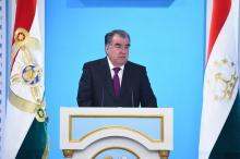 Послание Президента Республики Таджикистан Маджлиси Оли Республики Таджикистан 2018