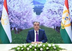 Поздравительное послание Лидера нации, Президента Республики Таджикистан уважаемого Эмомали Рахмона по случаю праздника Навруз